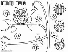 owl coloring pages coloring pages to and print