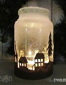 Weckgläser Deko Weihnachten - aus weck gl 228 sern kunstschnee und anderen dingen machst