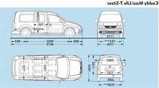 vw caddy technische daten volk wagon volkswagen caddy kofferraum masse