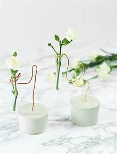diy reagenzglas vase aus gips und draht basteln sch 246 ne
