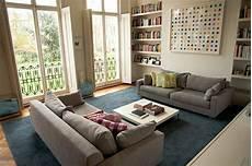 grosses wohnzimmer kleines wohnzimmer einrichten 20 ideen f 252 r mehr ger 228 umigkeit