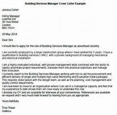 Building Manager Uk by Building Services Manager Cover Letter Exle Learnist Org