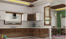 Kitchen Room Interior Dining Kitchen Living Room Interior Designs Kerala