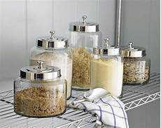glass kitchen canisters cool kitchen storage ideas