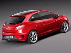 Seat Ibiza Cupra 2013 3d Model Max Obj 3ds C4d Lwo Lw Lws