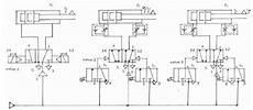 Pneumatic Circuit Diagram Of 3 Cylinders