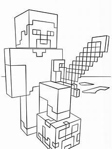 Malvorlagen Minecraft Drucken 39 Minecraft Zum Ausdrucken Besten Bilder Ausmalbilder