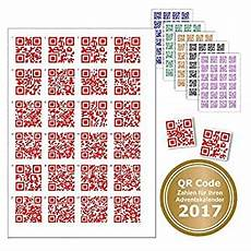 24 stickers with qr code for advent calendars any code
