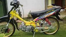 Modifikasi Motor Crypton by Modif Crypton Malang Selatan Tkl Lemon Tea 35