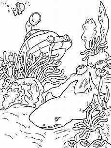 malvorlagen unterwasserwelt ausmalbilder kostenlos zum
