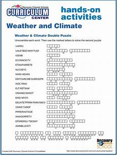 http school discoveryeducation com curriculumcenter weather pdf doublepuzzle pdf climate
