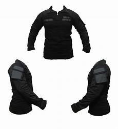 jual baju kaos tactical bdu combat shirt hitam perekat