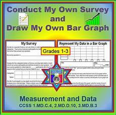 conduct my own survey build my own bar graph freebie by shari beck