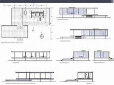 farnsworth house floor plan architecture of modernism 2 week 14 interior design