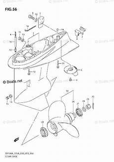 suzuki outboard parts by year 2013 oem parts diagram for gear case df115at e03 boats net