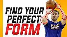 how to find your shooting form basketball shooting tips and tricks youtube