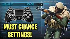 warzone aim assist not working must change settings for warzone best aim assist in warzone op controller settings for