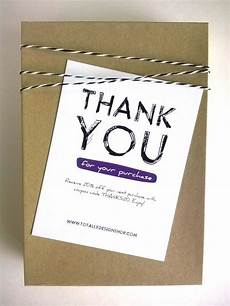 thank you packaging card template business thank you cards printable instant by