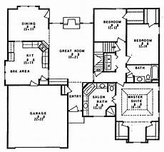 e plans ranch house plans ranch style house plan 3 beds 2 baths 1920 sq ft plan