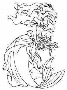 disney princess ariel by goude lineart on deviantart