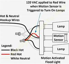 Motion Sensor Light Wiring Diagram Free Wiring Diagram