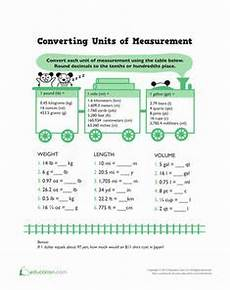 measurement worksheets 5th grade 1358 units of measurement worksheets and articles on