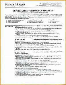 header resume format resume writing a cv