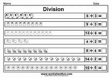 worksheets on division for grade 3 6490 beginner division equally picture division 14 worksheets division worksheets