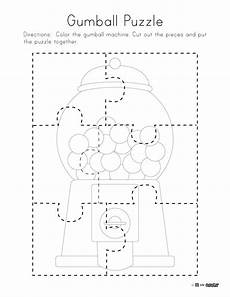gumball puzzle free printable
