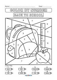 color by number worksheets high school 16166 free color by number worksheets cool2bkids