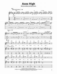 aces high sheet music direct