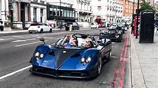 15 Million Zonda Hp Barchetta Leading Pagani Convoy In