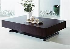Table Basse Relevable Extensible Ella Wenge Tables