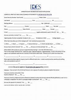 form aic 589 apprenticeship information center
