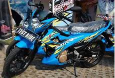 Modifikasi Satria Fu 2014 Simple by Perubahan Modifikasi New Satria Fu 150 2014 Simple Acre