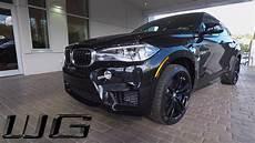 bmw x6 m edition black 2017 bmw x6 m black one take exterior interior