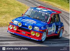 1985 Renault 5 Maxi Turbo With Driver Jean Ragnotti At The