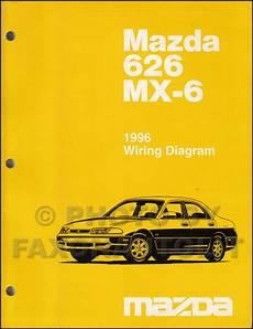 online auto repair manual 1996 mazda b series plus instrument cluster 1996 mazda 626 mx 6 repair shop manual original