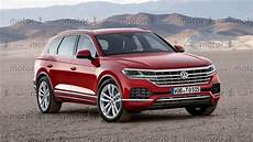 volkswagen touareg 2018 2018 vw touareg will probably look a lot like this