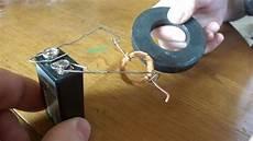 notre petit moteur electrique artisanal