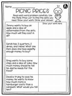 word problems with coins worksheets 10989 free money word problems activity by 2nd grade snickerdoodles tpt