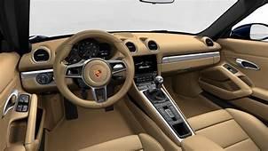 Porsche 718 Boxster Interior Image Gallery Pictures Photos