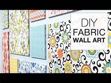 How To Make Fabric Wall Easy Diy Tutorial