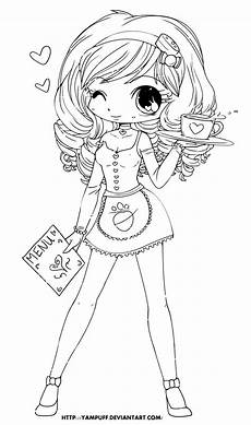 coloring pages chibi 14923 lineart by yuff on deviantart digi sts coloring deviantart sts