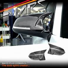 m3 m4 style carbon fibre mirror caps replacement for bmw 1 series f20 2 series f22 m2 f87