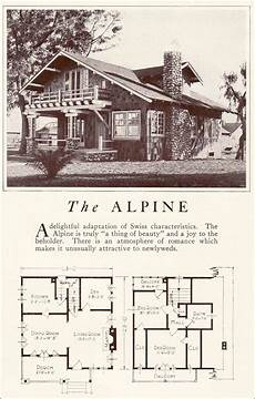 airplane bungalow house plans 1922 lewis homes of character the alpine same one less