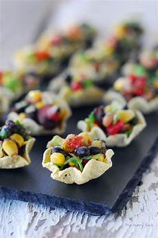 cowboy caviar cups 14 types of make ahead appetizers