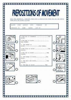 preposition of movement worksheet free esl printable worksheets made by teachers