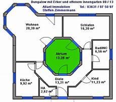 atrium bungalow grundrisse bungalows ab 64 m 178 wohnfl 228 che bungalow neubau beste