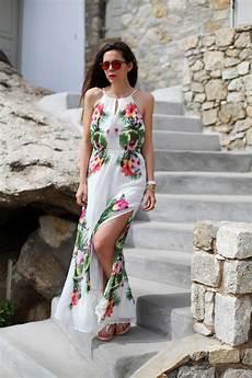 vestito con fiori vacanze mykonos l esperienza pinktrotters un viaggio per